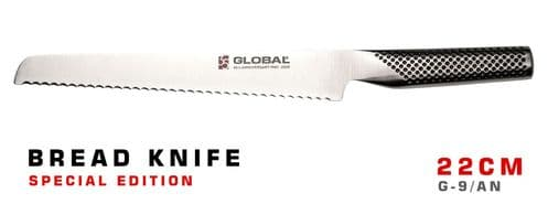 Global Special Edition Bread Knife 22cm - G-9/AN